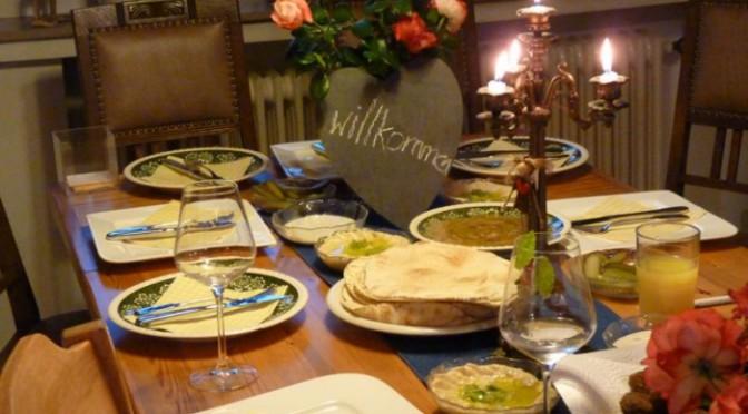 Ein tolles erstes Mal über den Tellerrand gekocht: Palästina