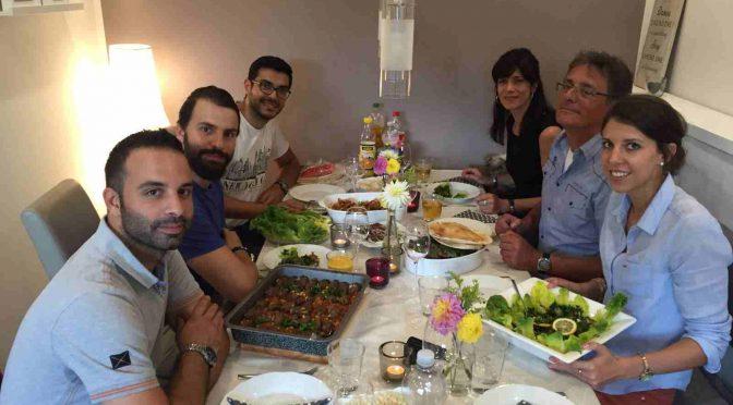 Über den Tellerrand kochen: Syrischer Abend bei Kathrin und Julian