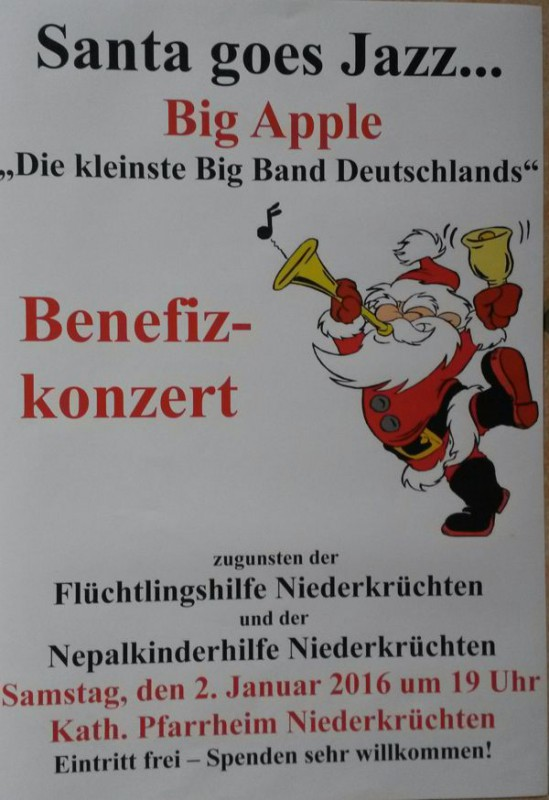 Benefiz-Konzert Plakat