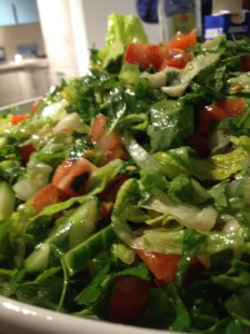 Als Fatusch noch Salat war.