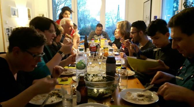 Jahresauftakt: Über den Tellerrand kochen