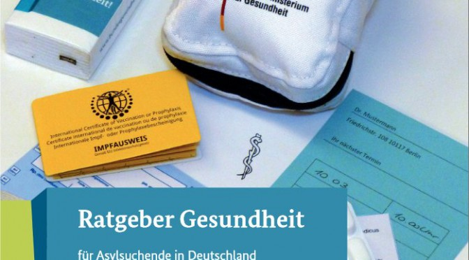 Health Guide for asylum seekers in Germany