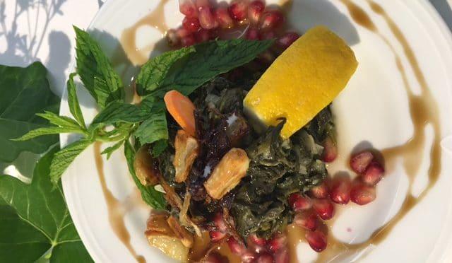Über den Tellerrand: Syrian cooking