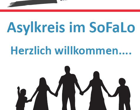 Neue Begegnungsstätte: Asylkreis im SoFaLo